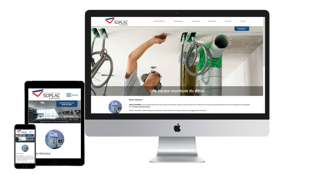 site responsive soplac